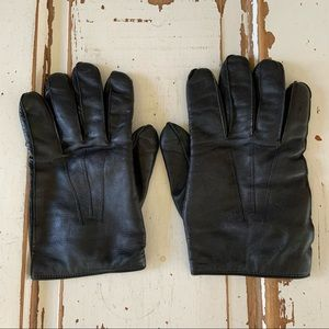 Coach Leather Driving Gloves Cashmere Lined